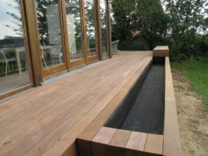 Terrasse suspendu avec bassin